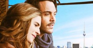 Jack Huston and Brit Marling in POSTHUMOUS