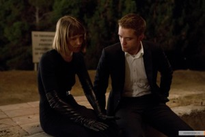 Mia Wasikowska and Robert Pattinson in MAPS TO THE STARS